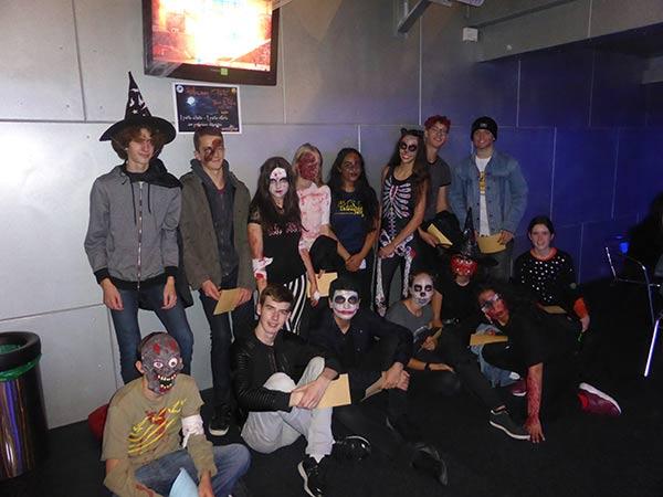 soiree halloween 2017