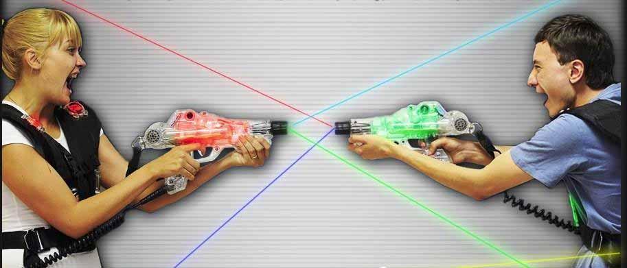 Anniversaire enfants au laserfive